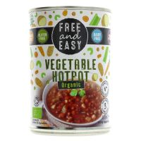 Free & Easy Organic Vegetable Hotpot 400g